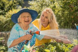 Seniorenstift Tiroler Hof - Im Garten